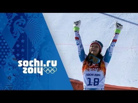Alpine Skiing - Ladies' Super G - Anna Fenninger Wins Gold | Sochi 2014 Winter Olympics