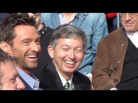 Hugh Jackman Honored with Star on Hollywood Walk of Fame Full Ceremony