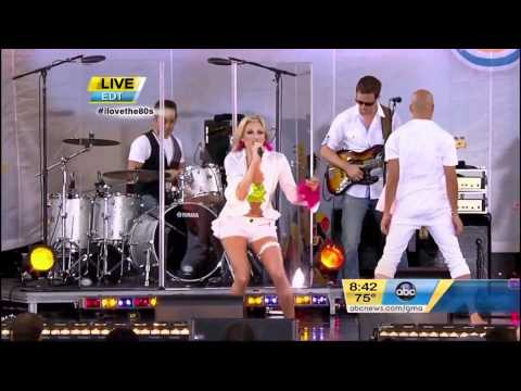 """Debbie Gibson - """"Only in My Dreams"""" live on Good Morning America NYC 2011"""