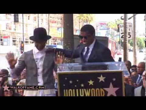 "Kenny ""Babyface"" Edmonds Walk of Fame Ceremony"