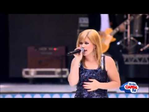 Kelly Clarkson - 'Since U Been Gone' At the Capital FM Summertime Ball 2012