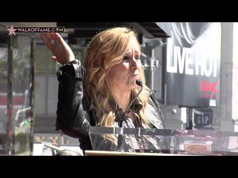 MELISSA ETHERIDGE HONORED WITH HOLLYWOOD WALK OF FAME STAR