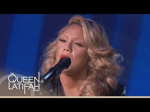 Tamar Braxton Performs 'Silent Night' on The Queen Latifah Show