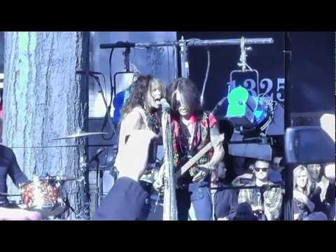 Aerosmith Live on Comm Ave In Boston, MA (November 5th, 2012) COMPLETE SHOW 1080HD
