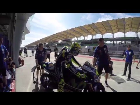 Valentino Rossi on track! #SepangTest