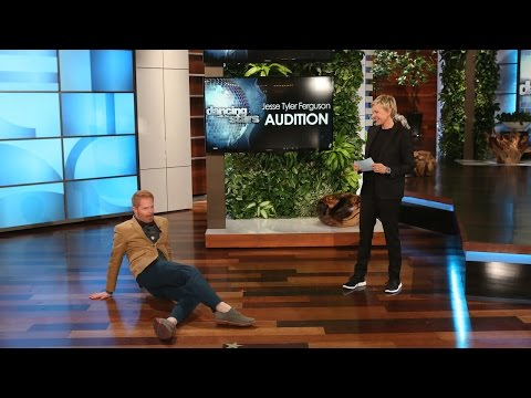 Jesse Tyler Ferguson Auditions for 'DWTS'