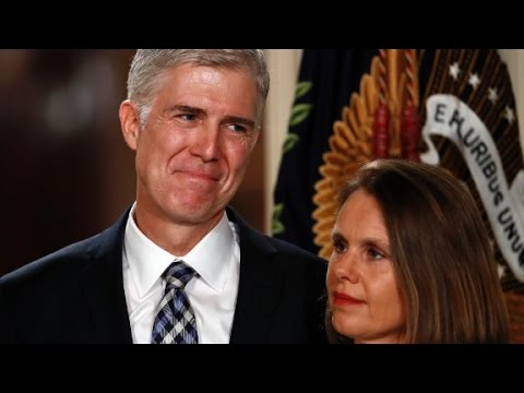 Trump's Supreme Court pick Neil Gorsuch full speech