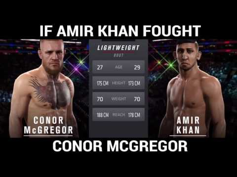 IF AMIR KHAN FOUGHT CONOR MCGREGOR