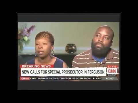 Mike Brown's parents interviewed by Anderson Cooper Aug 21 2014