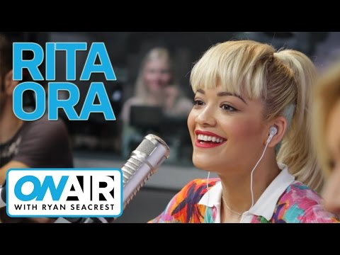 Rita Ora on Friendship with Iggy Azalea | On Air with Ryan Seacrest