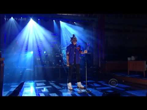 The Weeknd Live @ Late Show With David Letterman - Pretty