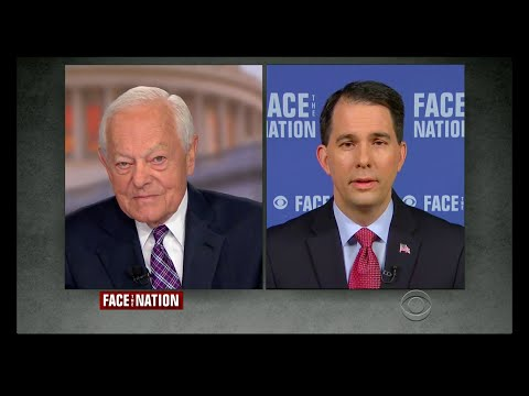 Scott Walker Talks Foreign Policy On Face The Nation