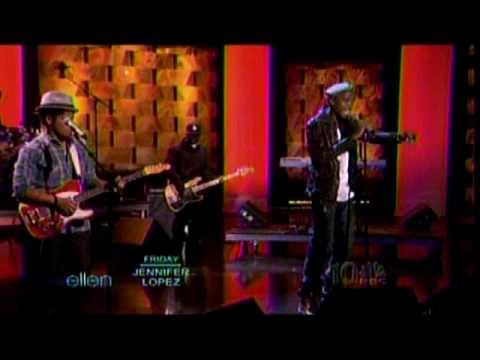 B.o.B ft. Bruno Mars - Nothin' on You - The Ellen Show