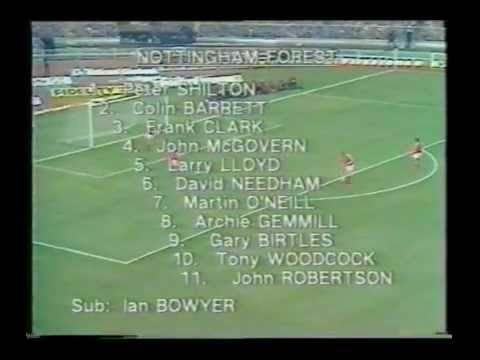 NOTTINGHAM FOREST vs SOUTHAMPTON pt 1 LEAGUE CUP FINAL 1979