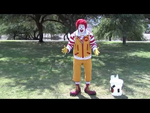 Ronald McDonald Accepts ALS Ice Bucket Challenge | Fun Makes Great Things Happen | McDonald's