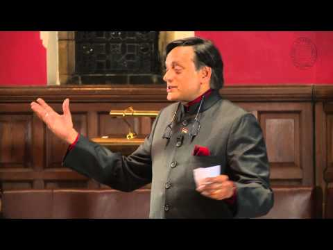 Dr Shashi Tharoor MP - Britain Does Owe Reparations