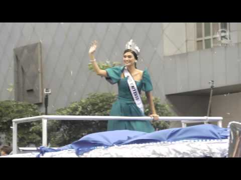 Miss Universe Pia Wurtzbach's grand homecoming parade