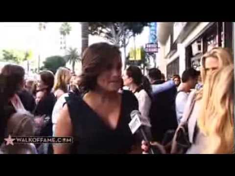 Mariska Hargitay Walk of Fame Ceremony