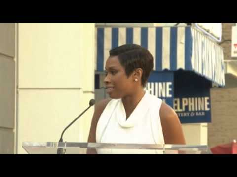 Jennifer Hudson Gets Hollywood Walk of Fame Star