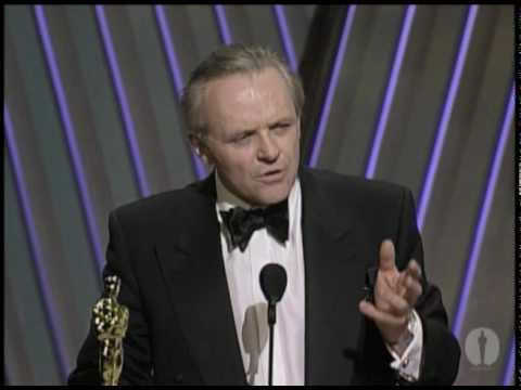 Anthony Hopkins Wins Best Actor: 1992 Oscars