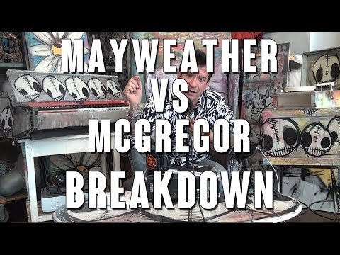 Mayweather vs McGregor: Robin Black Breakdown
