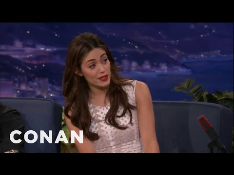 Emmy Rossum Sings Opera For A Hot Dog - Conan on TBS