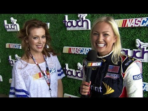 Inside Access with Miss Sprint Cup: NASCAR Touch by Alyssa Milano