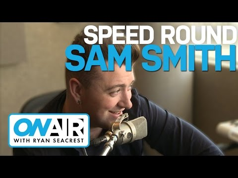 Speed Round with Sam Smith | On Air with Ryan Seacrest