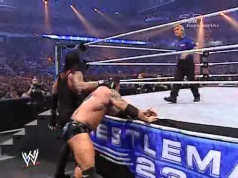 WWE WRESTLEMANIA 23 Batista vs Undertaker (WHC TITLE MATCH)