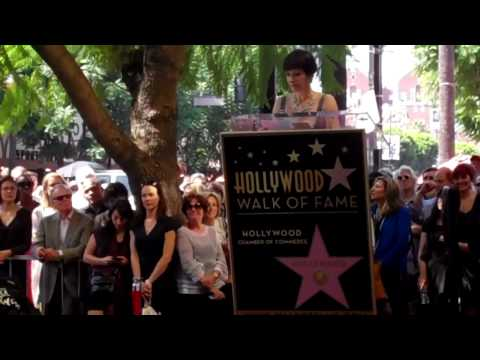Gale Anne Hurd comments on Hollywood Walk of Fame Star