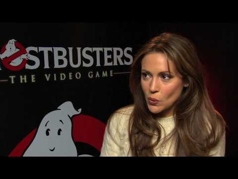 Alyssa Milano Ghostbusters The Videogame Interview