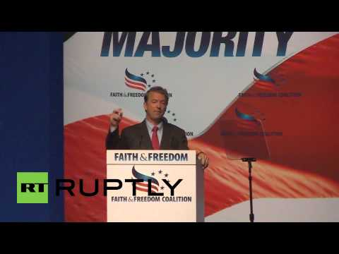 USA: Destruction of Israel? We pay for it! - Rand Paul