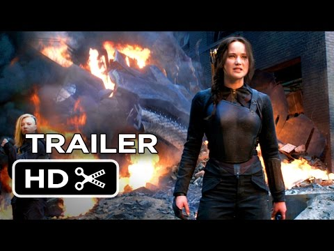 The Hunger Games: Mockingjay - Part 1 Official Final Trailer (2014) - Jennifer Lawrence Movie HD