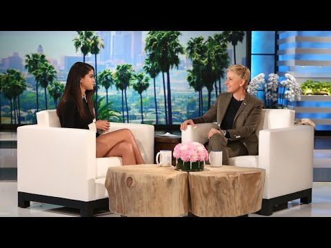 Selena Gomez Catches Up with Ellen