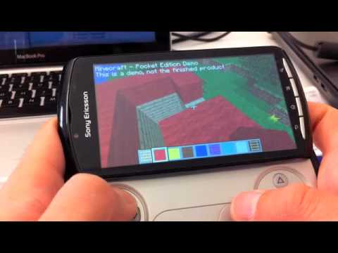 Minecraft - Pocket Edition on Xperia Play