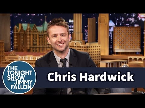 Chris Hardwick Bribed Tom Hanks with a Typewriter