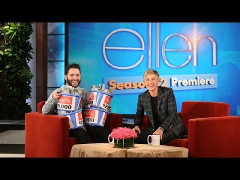 Ellen Meets Anthony Carbajal