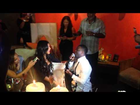 Kevin Hart Proposes To Eniko