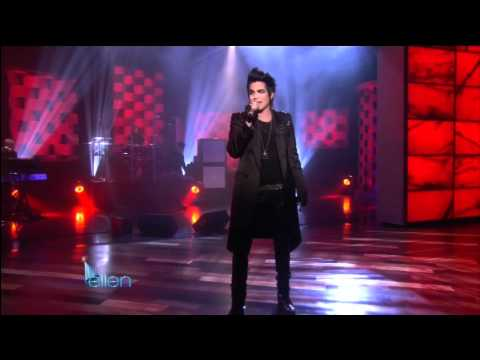"The Ellen DeGeneres Show: Adam Lambert - ""Strut"" (January 26th, 2010)"