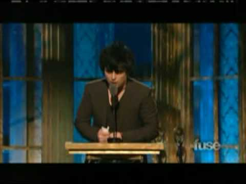 Rock N' Roll Hall of Fame 2010: The Stooges induction ceremony (Part 1)