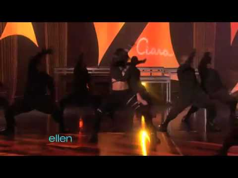"""Ciara Performs """"Gimmie Dat"""" LIVE On Ellen"""