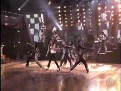 "Miley Cyrus ""Fly on the wall"" live on Dancing with the Stars 11/25/2008"