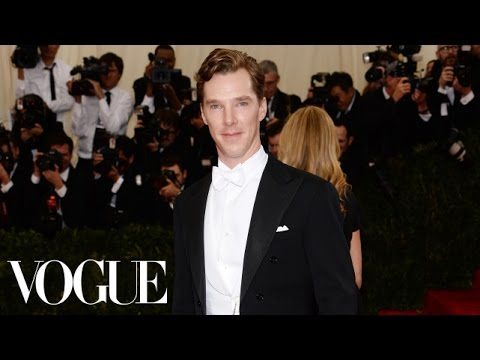 Benedict Cumberbatch at the Met Gala 2014 - The Dresses of Charles James - Vogue