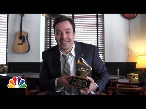 Jimmy's Grammy Award Thank You (Late Night with Jimmy Fallon)