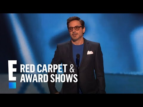 The People's Choice for Favorite Movie Actor is Robert Downey Jr.