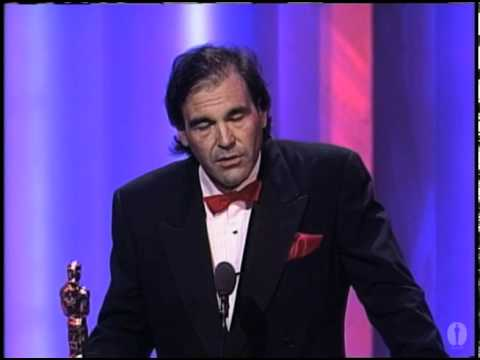 Oliver Stone Wins Best Directing: 1990 Oscars