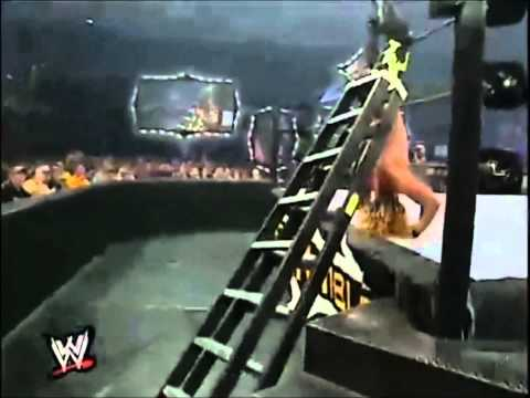 Chris Jericho vs Chris Benoit Intercontinental Championship Ladder Match Highlights