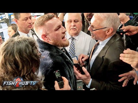 """Conor Mcgregor """"I'm gonna stop floyd! The world is gonna eat their words! I am boxing!"""
