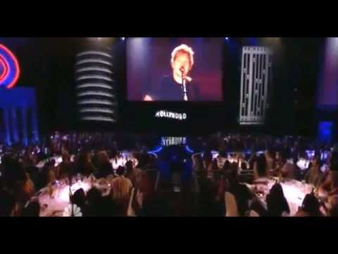 Ed Sheeran performing The A Team / at the iHeartRadio Music Awards
