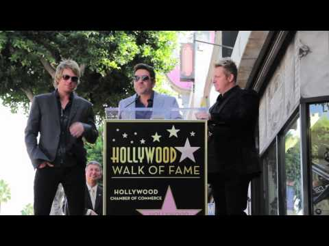 Rascal Flatts receive star on Hollywood Walk of Fame September 17, 2012